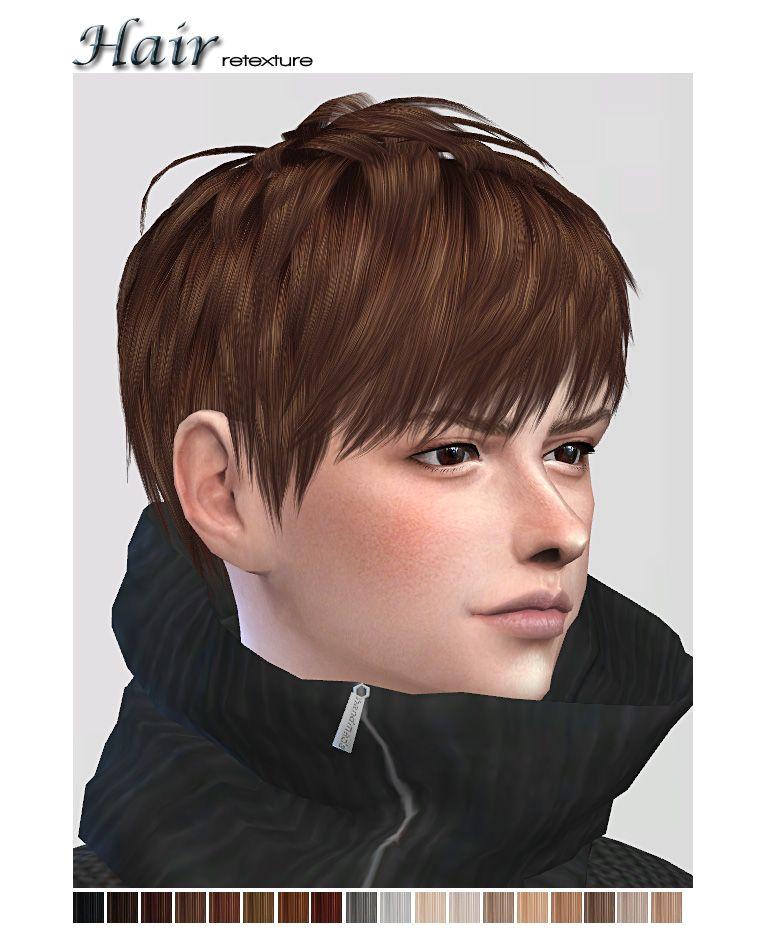 Hi … texture of ryuffys short layered hair… • male hair teen elder • 18 colors NEED MESH Ryuffy DOWNLOAD