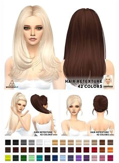 Miss Paraply Hair retexture Skysims hairstyles • Sims 4 Downloads Sims House Design