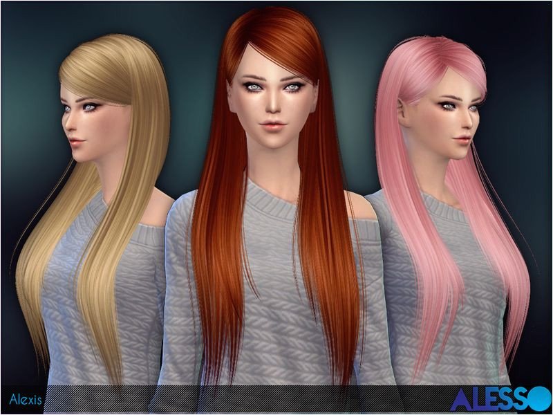 Long hair for females Found in TSR Category Sims 4 Female Hairstyles