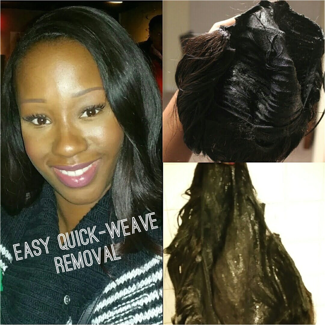 Quick Weave Removal in Minutes Tutorial
