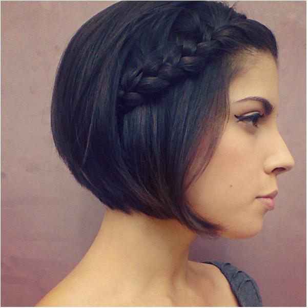 Summer Braided Hairstyles for Short Hair 19 Cute Braids for Short Hair You Will Love