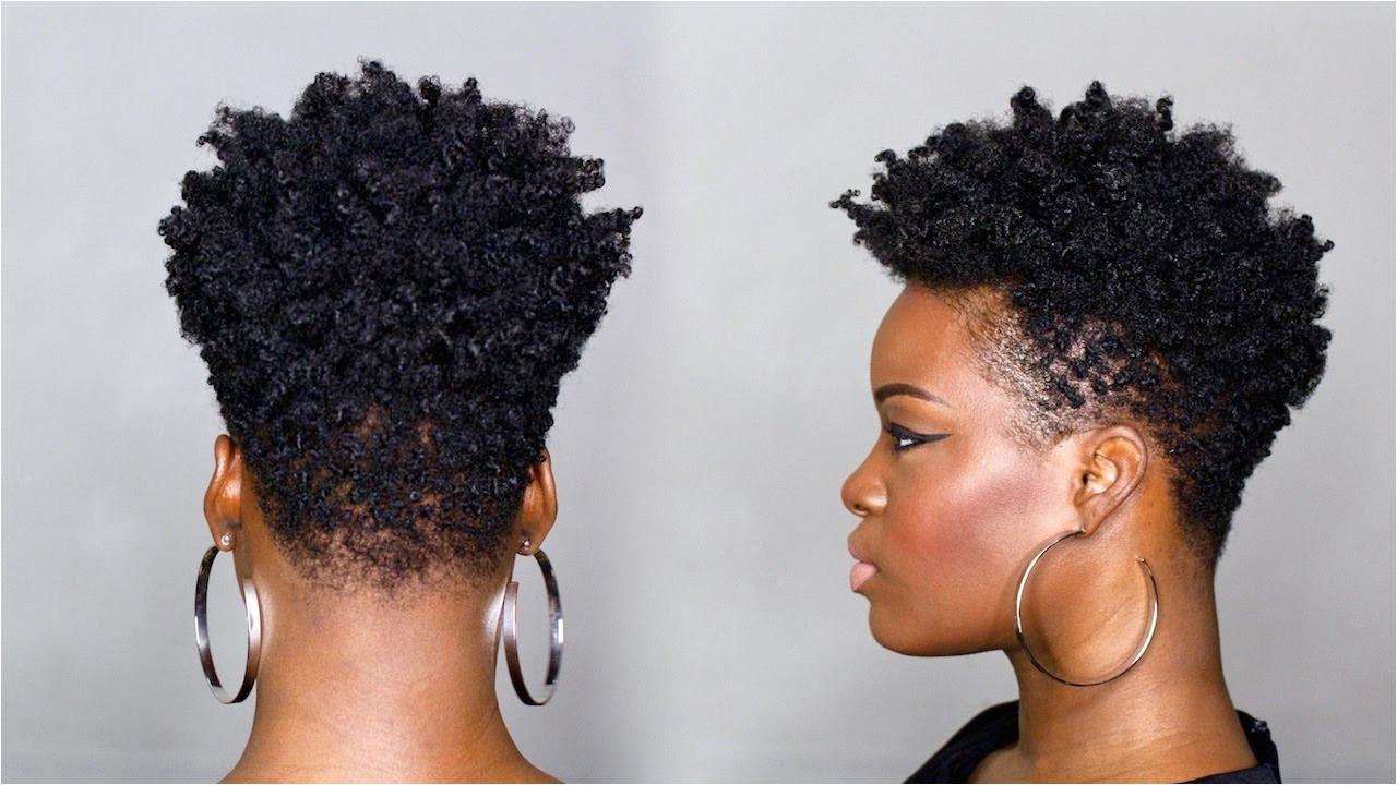 DIY Tapered Cut Tutorial on 4C Hair