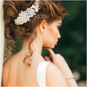 Formal Hairstyles Medium Hair Down Wedding Hairstyles for Medium Hair Down Elegant Bridal Hairstyle 0d