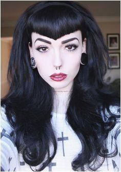 New hair crush The V bangs