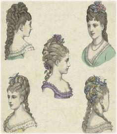 Victorian hair styles 2 Neo Victorian Victorian Fashion Victorian Vampire Vintage Fashion
