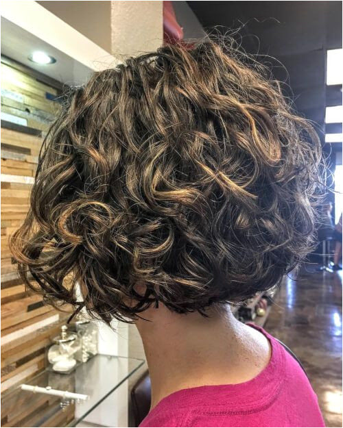 Short Bob Hairstyles for Wavy Hair Fresh Curly asymmetric Bob Bob Hairstyles Elegant Goth Haircut 0d