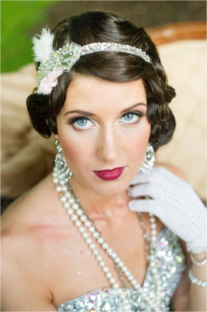 It is true that 1920s and the Great Gatsby themed weddings never lose popularity This magical era has the most romantic style still used for dresses
