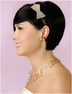 Look Dazzling in a 1920s – 1930s Vintage Wedding Hairstyle Cute Hairstyles Headband Hairstyles