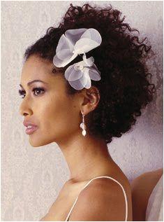 African American Wedding Hairstyles & Hairdos Natural Curly Style Keywords weddinghairstyles