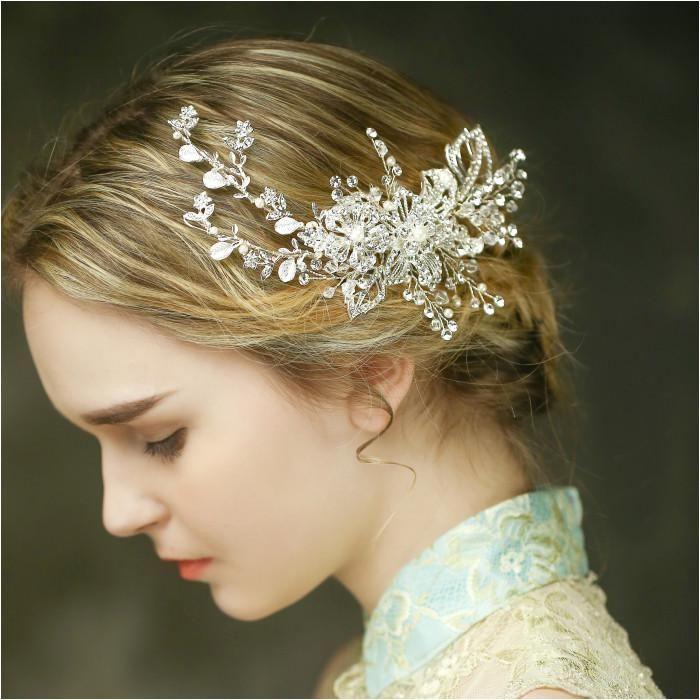 Hot Sale Tiara Wedding Hair b Vintage Style Bridal Hair Accessories Top Quality Handmade Yesterday s