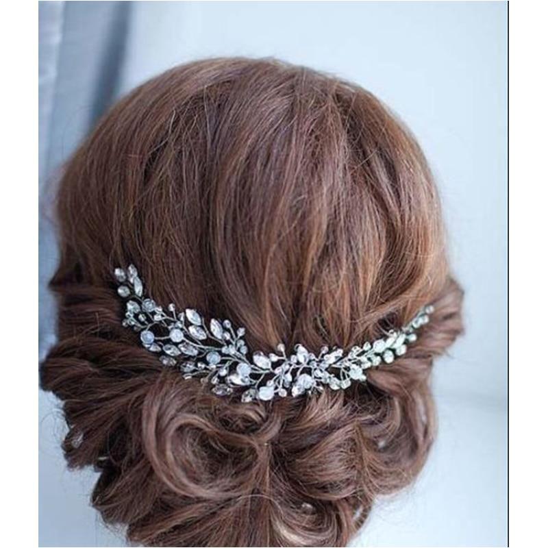 Rhinestone Crystals Soft Headband Hair Chains Headband Women Party Wedding Bride Bridal Hair Jewelry Accessories TD23 Yesterday s price US $11 60 10 27