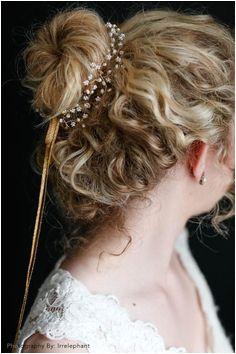 Pearldrop Halo from BHLDN Bhldn Wedding Hairstyles Wedding Shit Halo Curly Hair