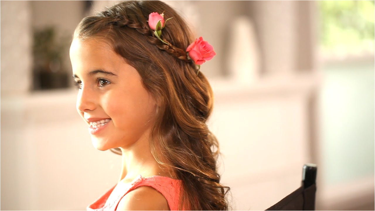 Wedding Hairstyles for 8 Year Olds Flower Girl Hairstyles