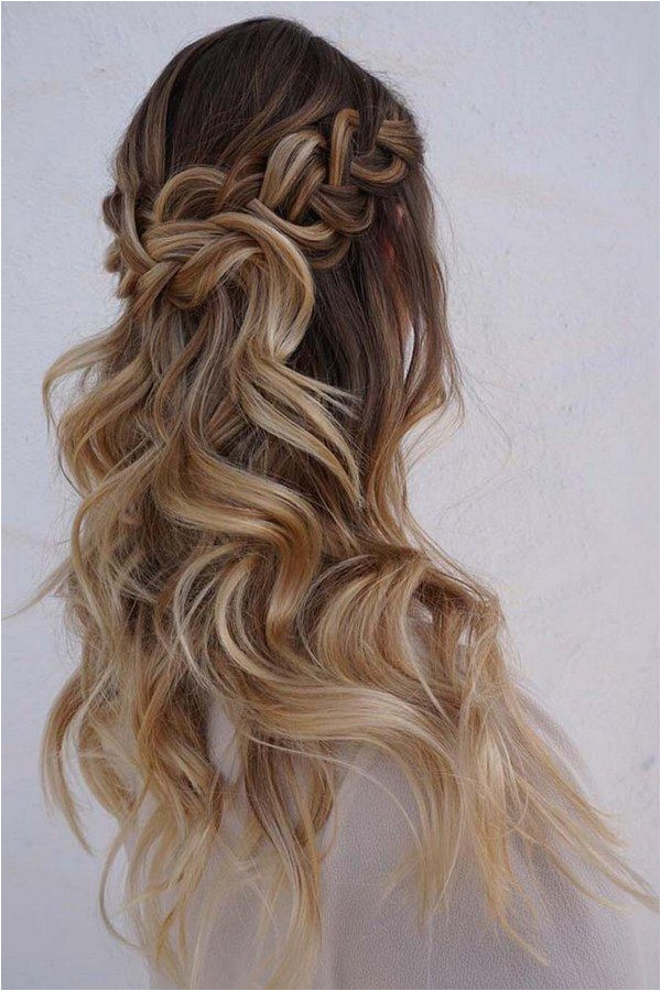 Wedding Hairstyles Half Up Braids 40 Stunning Half Up Half Down Wedding Hairstyles with Tutorial