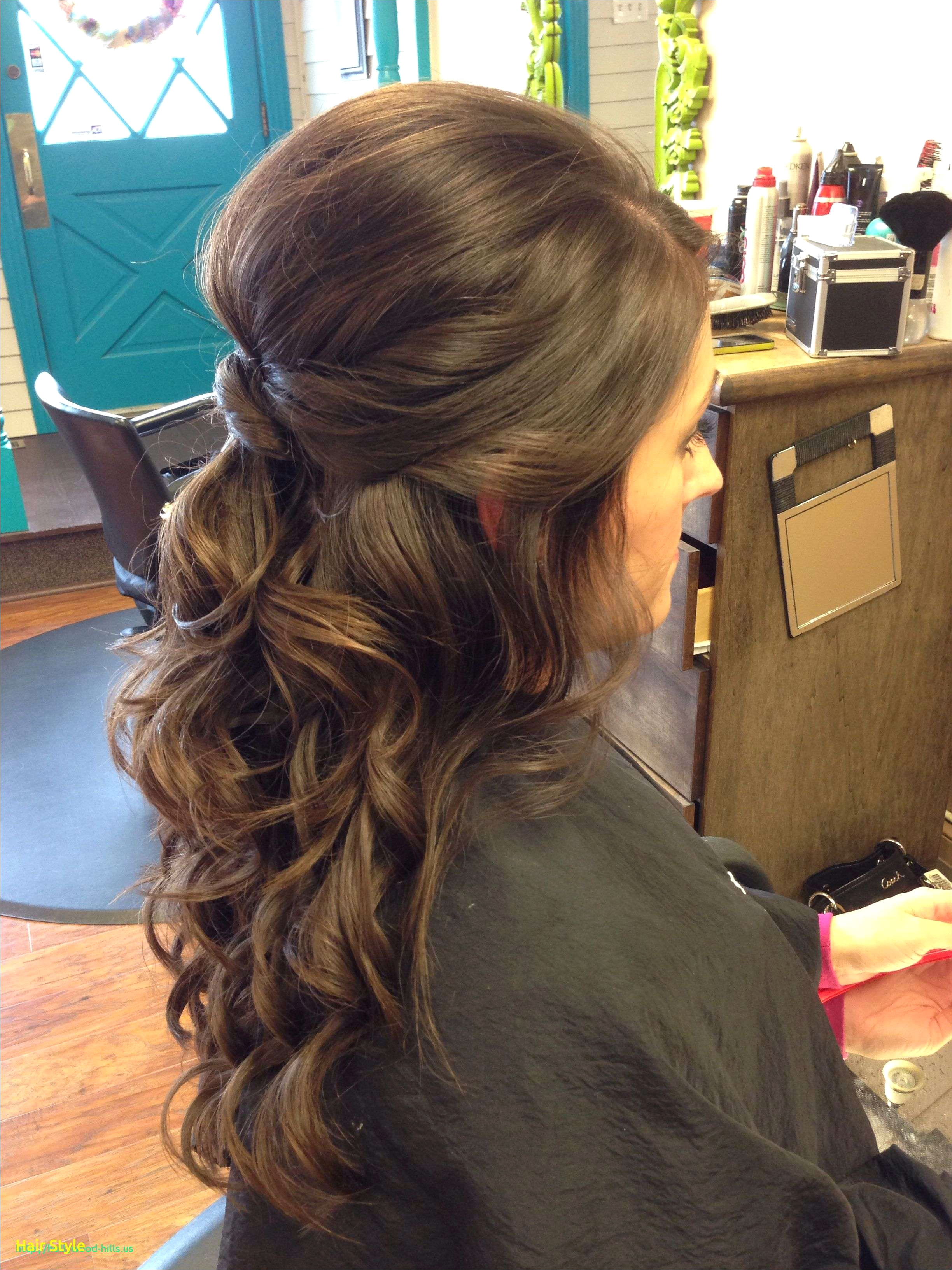 Half Up Half Down Curly Prom Hairstyles New Curly Wedding Hairstyles Half Up Half Down Elegant