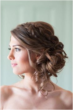 Updo Wedding Hairstyles photo Rachael Foster graphy Bridesmaid Side Hairstyles Bridesmaid Hair To