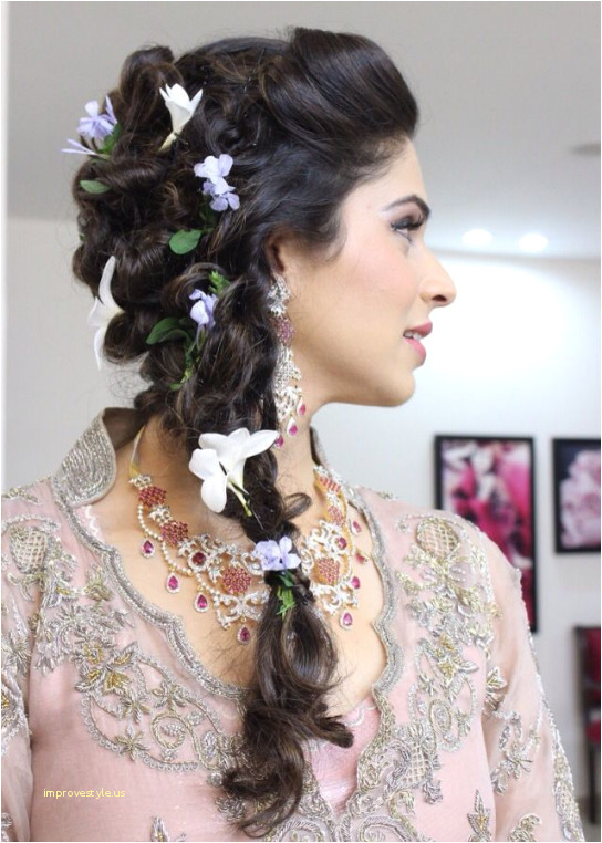 Easy Bridesmaid Hairstyles to Do Yourself Best Wedding Hairstyles Inspirational Lehenga Hairstyle 0d