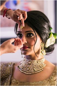Indian Wedding Bun Hairstyle one of many to consider for your indian wedding hairstyle