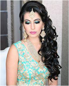 Pinterest pawank90 Engagement Hairstyles Indian Wedding Hairstyles Hairstyles With Lehenga Short