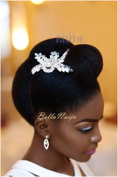 Dionne Smith Natural Hair Bride Inspiration Bellanaija June Natural Hair Natural Bridal