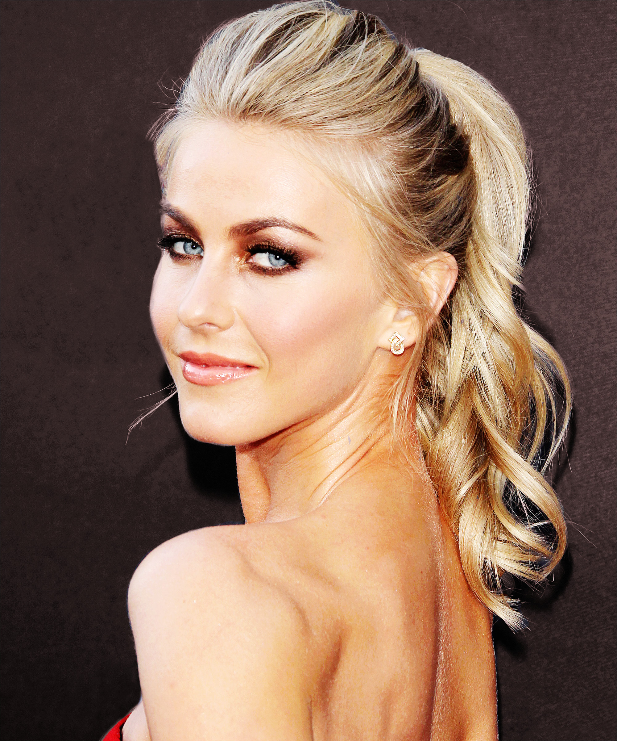cool Awesome Celebrity Wedding Hairstyles to Copy Julianne Hough Hairstyle Riawna Capri Ponytail