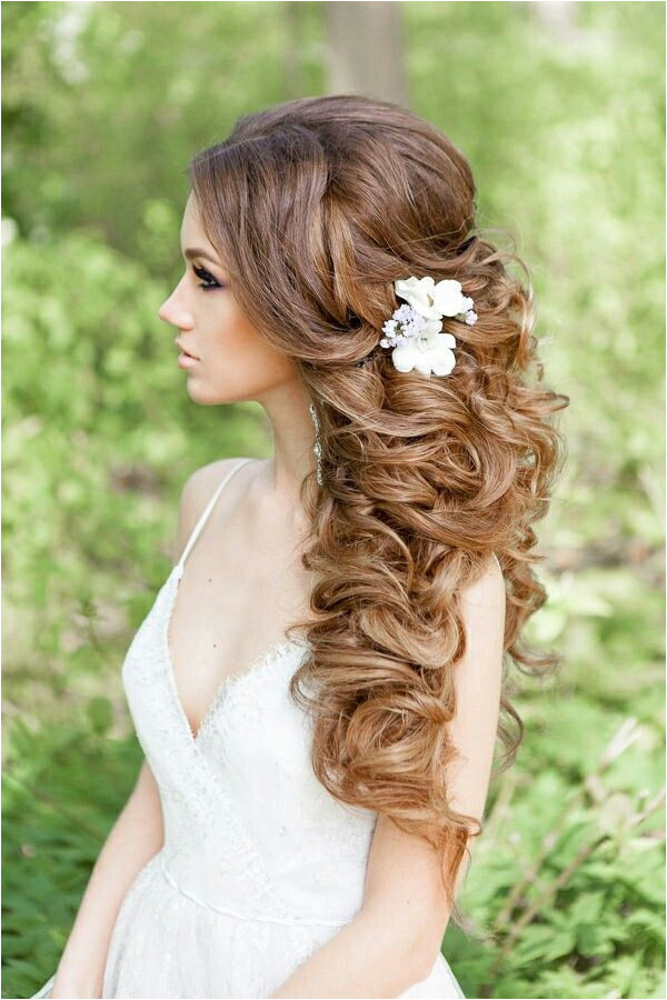 every bride wants long hair 20 Gorgeous Half Up Wedding Hairstyle Ideas