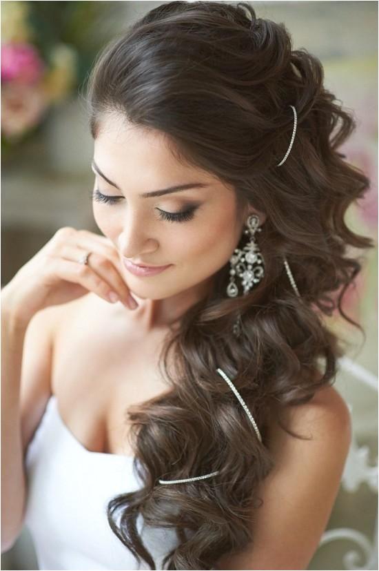 Peinados de novia con el pelo suelto ideas boda