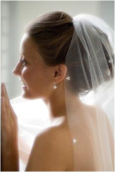 I m not crazy about veils like at all but I might be with this hairstyle and attachment point