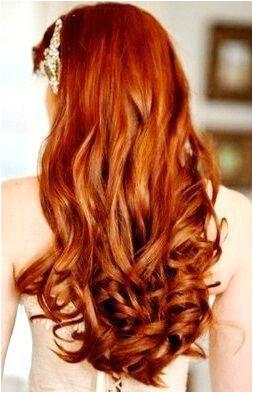Gorgeous ginger wedding hairstyle w headpiece