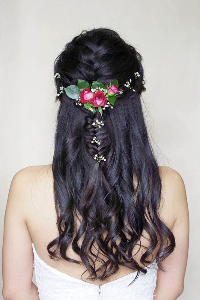 36 Rustic Wedding Hairstyles final Pinterest