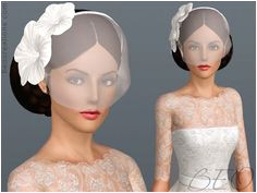 Cute wedding veil Sims 3 cc Sims 4 Wedding Dress Wedding Dresses Bridal