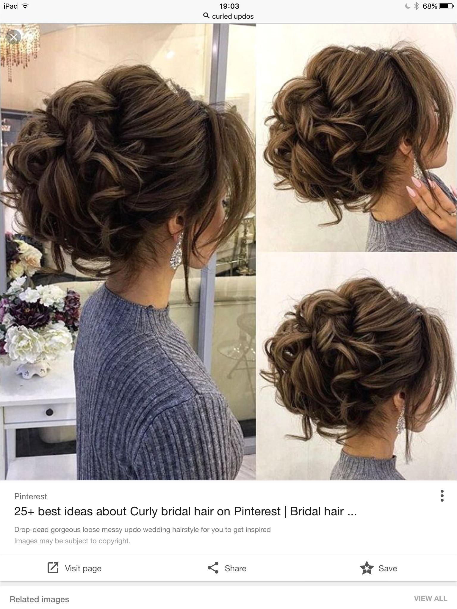 Wedding Hairstyles Updos Curls Pin Von Larissa Dell Auf Haar Ideen
