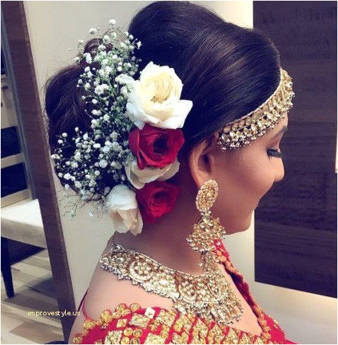 Wedding Updos for Bridesmaids Lovely Indian Bridal Hairstyles Beautiful Kerala Hairstyle 0d