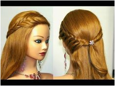 Easy Quick & Chic Everyday Party Hair Tutorial Lace Braid Rosette Side Bun and Fishtail Mashup Video Dailymotion