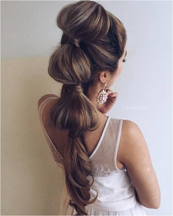 Ulyana Aster Long Bridal Hairstyles for Wedding 28 ❤ See More