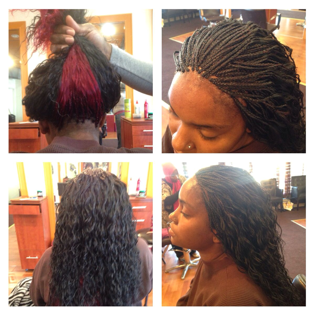 Wet n wavy MicroBraids Mannequin Hair Braiding & Weaves 404 702 6995