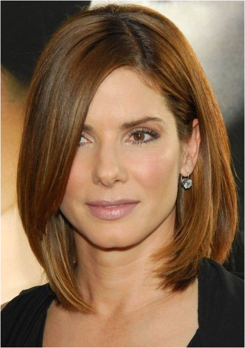 Womens Chin Length Layered Hairstyles Medium Length Hairstyle with Bangs