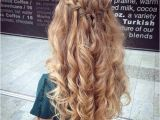 1 Minute Hairstyles for Curly Hair 31 Half Up Half Down Prom Hairstyles Stayglam Hairstyles
