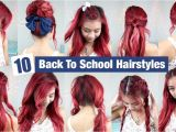 10 Quick and Easy Hairstyles for School 10 Back to School Hairstyles L Quick & Easy Hairstyles for