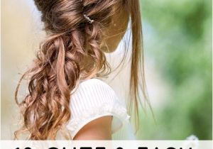 10 Quick and Easy Hairstyles for School 10 Easy Hairstyles for School