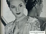 1940s Braided Hairstyles Fashionable forties A Braided Updo