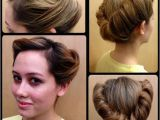 1940s Hairstyles Buns Blog Hair Curls & Color Pinterest