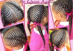 2 Plaits Hairstyles for School Weaving or Braiding Hairstyles for Small Head Person Google Search