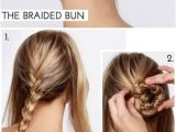 25 Easy Hairstyles with Braids Punđa Od 3 Pletenice Hair Style
