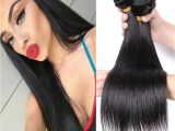 3 Colors Hairstyles Brazilian Straight Hair Extension 10 26 Inches Remy Human Hair 3