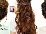 3 Everyday Hairstyles In 3 Minutes 4 totally Easy Back to School Hairstyles Cute Hair Tutorial
