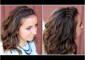 3 Quick and Easy Hairstyles for School Diy Faux Waterfall Headband