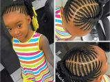3 Year Old Black Girl Hairstyles Kids Braided Ponytail Naturalista Pinterest