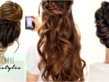 4 Hairstyles for School 4 Easy Back to School Hairstyles Hair Tutorial for Long Hair 2