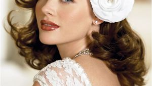 40s Wedding Hairstyles Fabulous 40s Inspired Hair Flowers